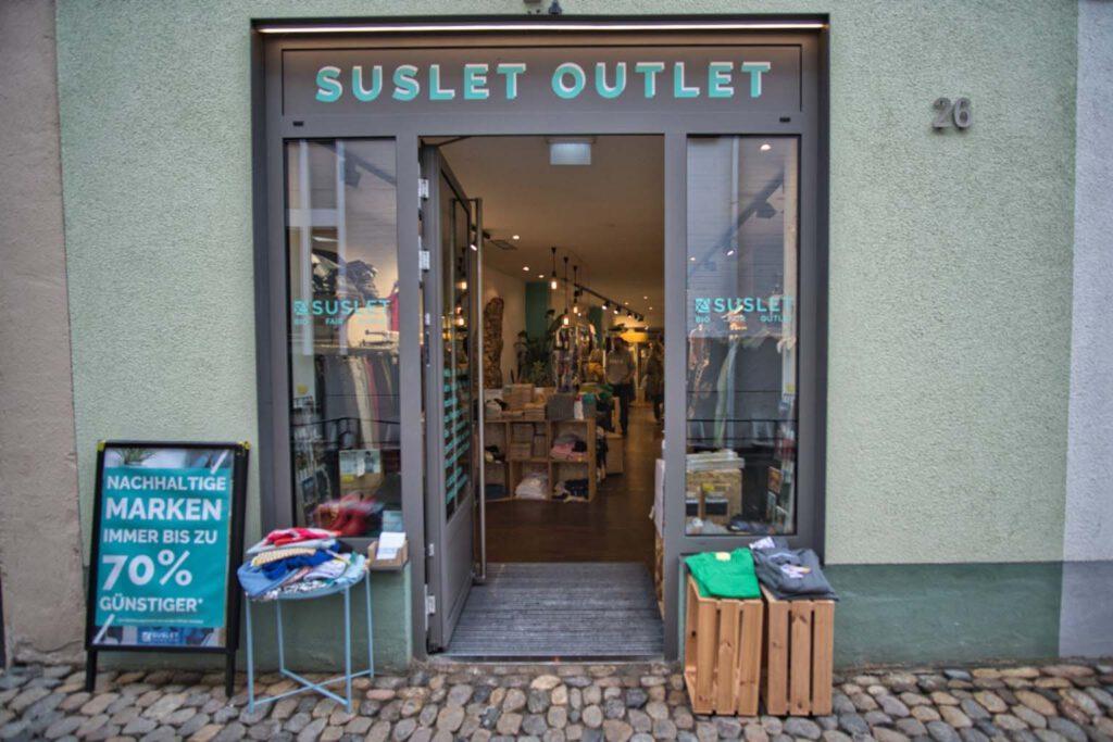 SUSLET Outlet Freiburg | Filiale Innenstadt